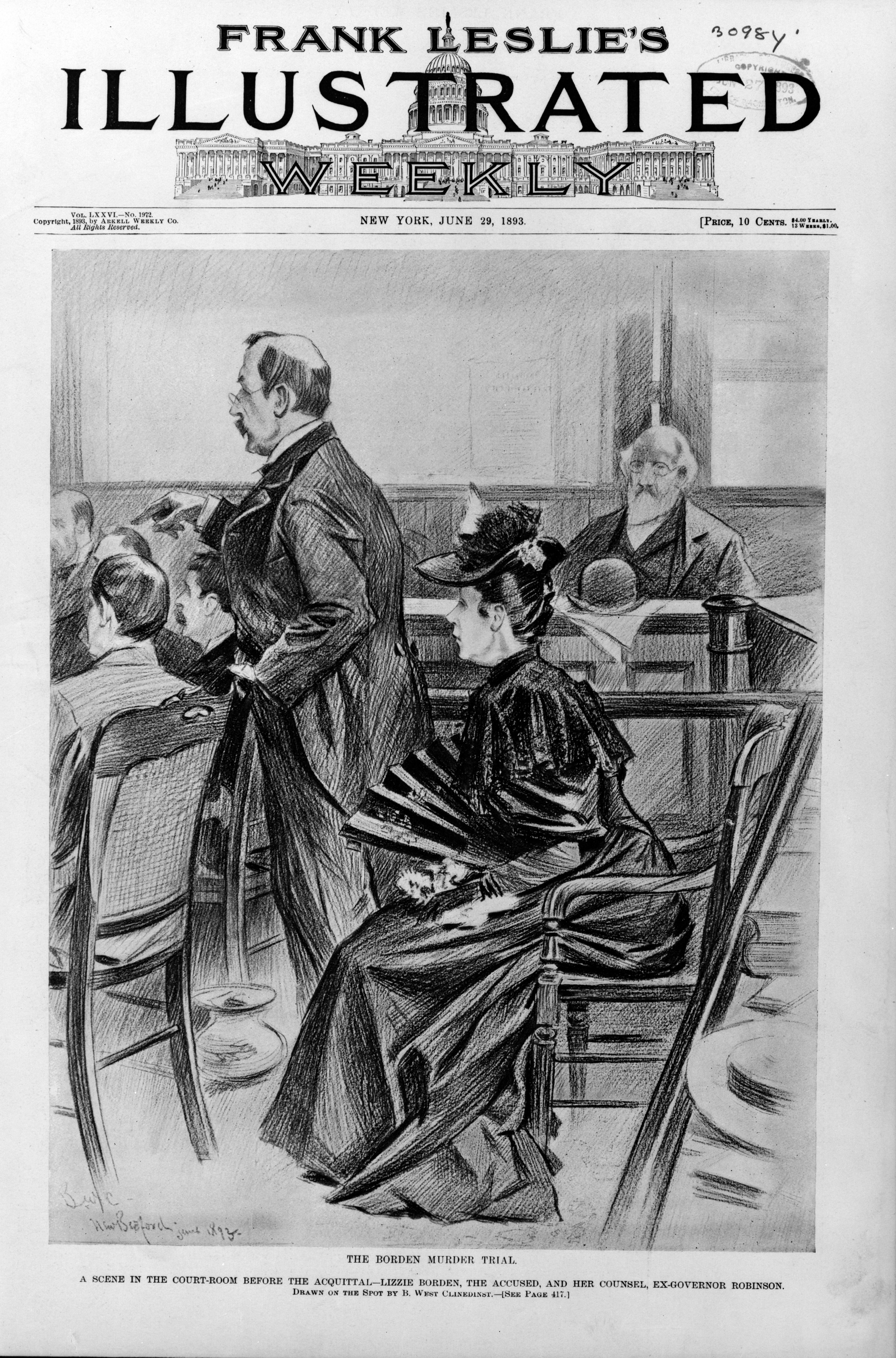 the life and trials of lizzie borden Parallel lives: a social history of lizzie a borden and her fall river is a  the  borden murders: lizzie borden & the trial of the century is her first non-fiction.
