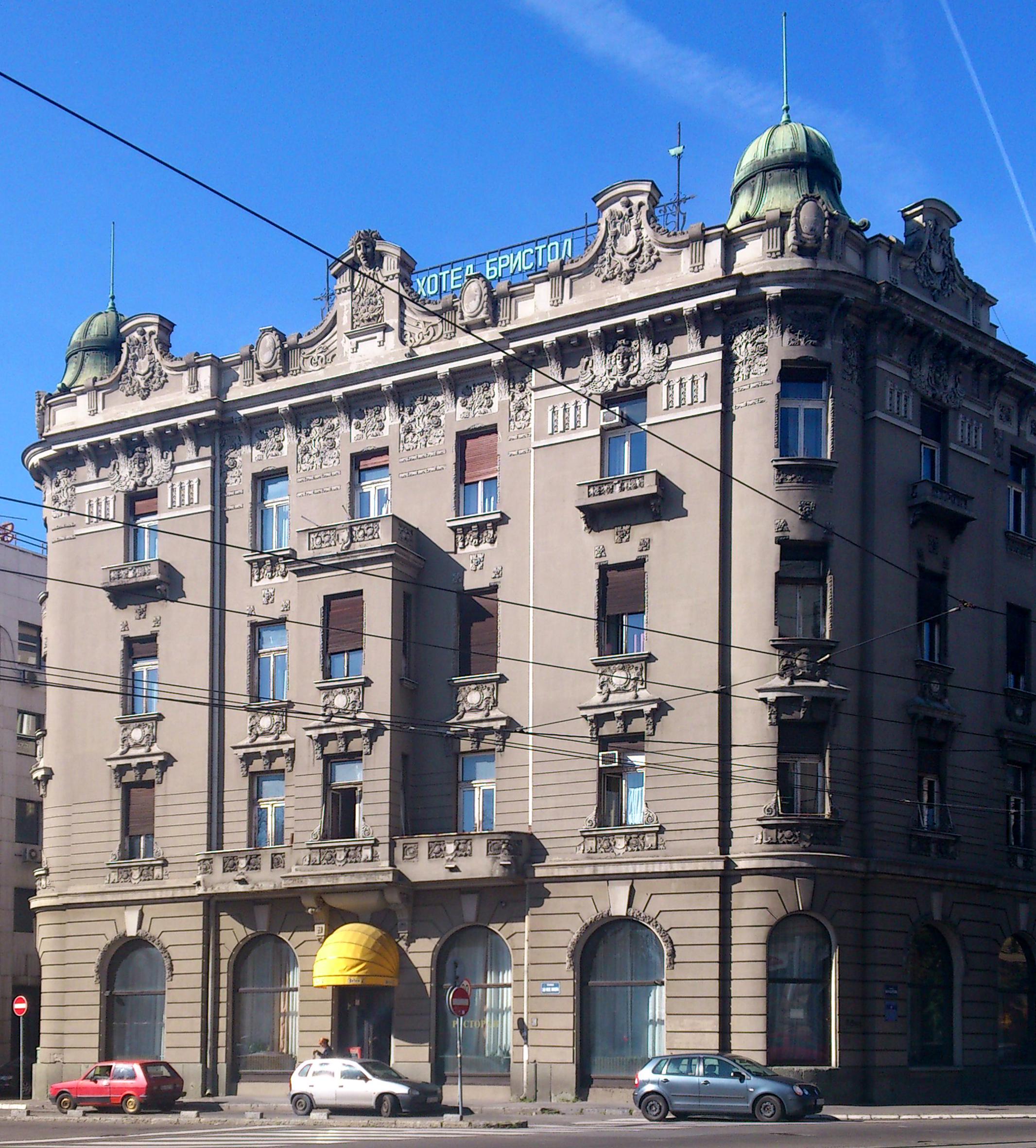 Hotel Bristol Belgrade Wikipedia