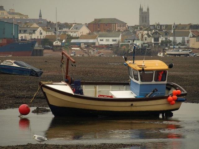 File:Boat at Shaldon - geograph.org.uk - 1035942.jpg