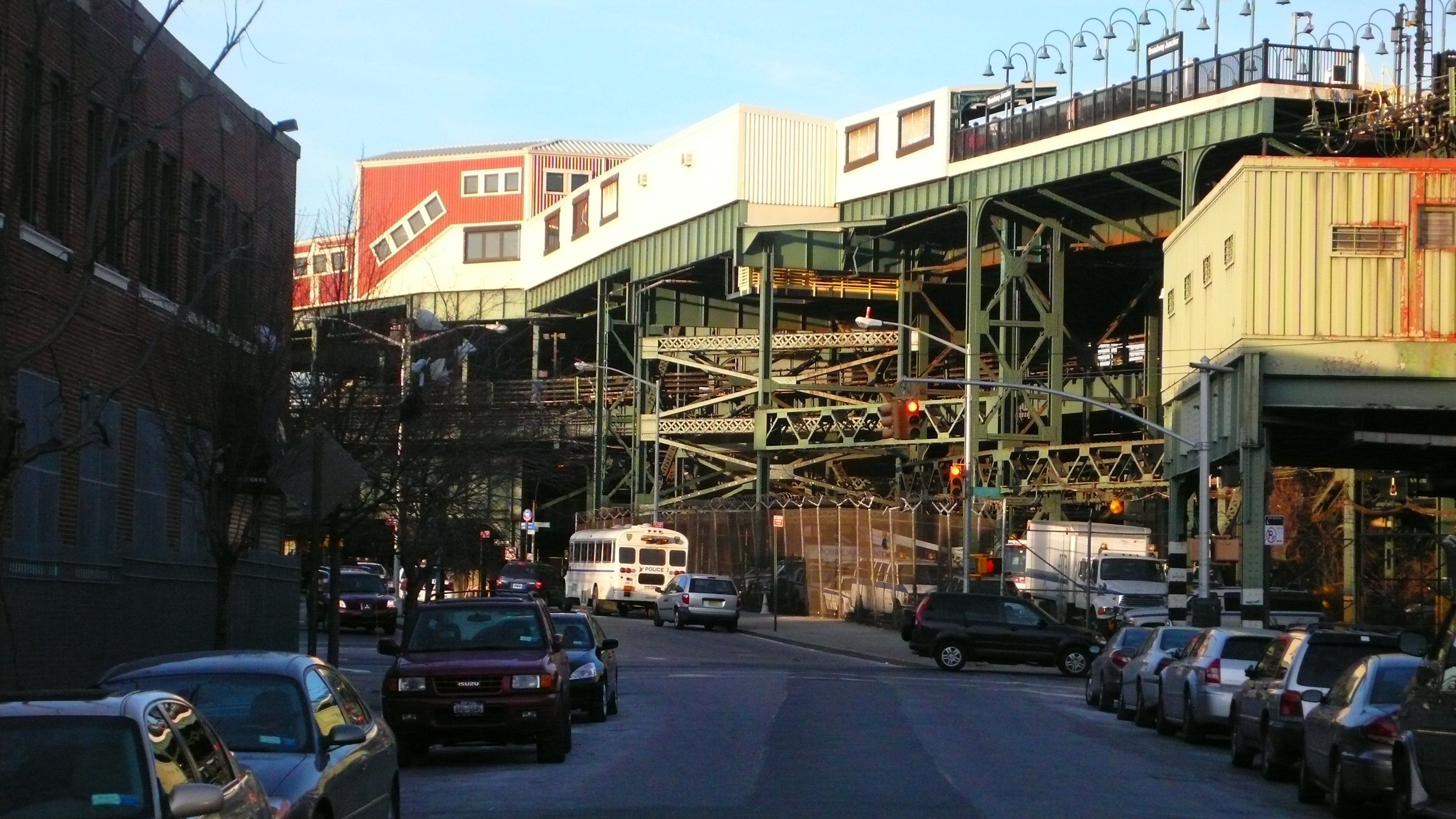 New York City New York Broadway Junction. Full resolution  pic, nominally Width 4224 Height 2376 pixels, pic with #A15E2A.