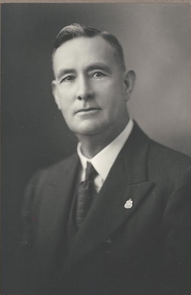 Charles Latham in the 1940s