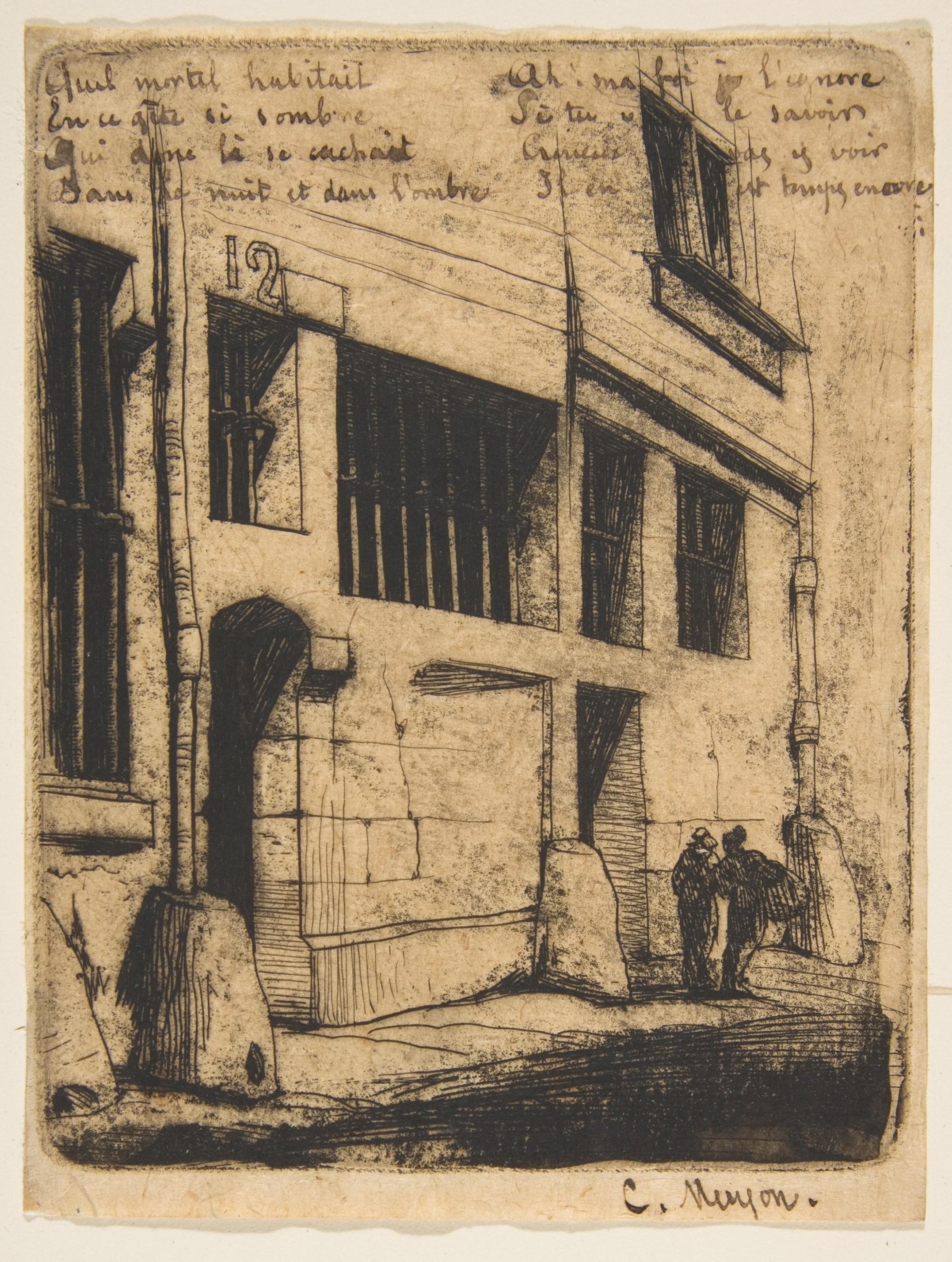 File charles meryon rue des mauvais gar ons paris 1854 for Rue des garcons