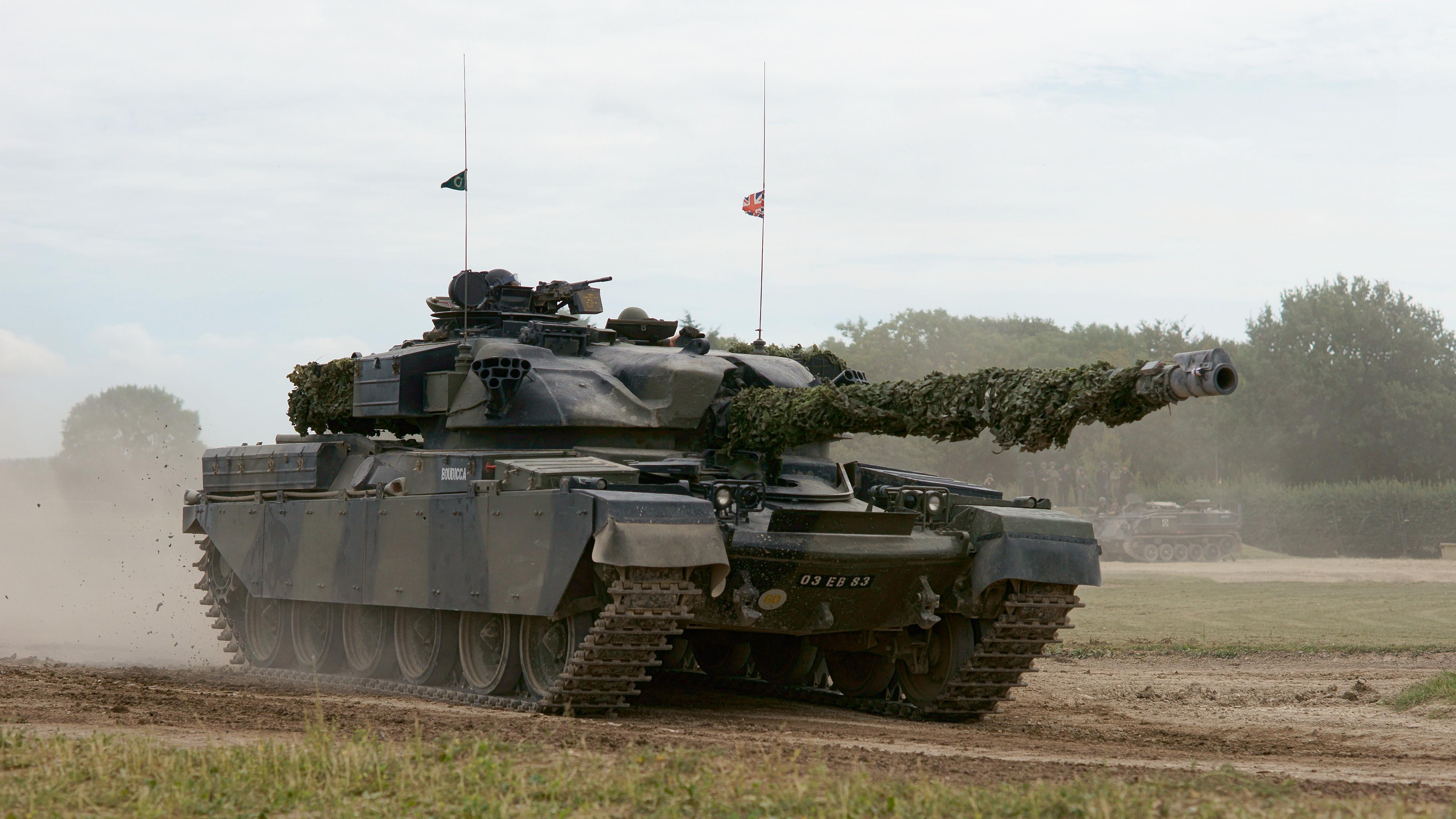 Chieftain (tank) - Wikipedia