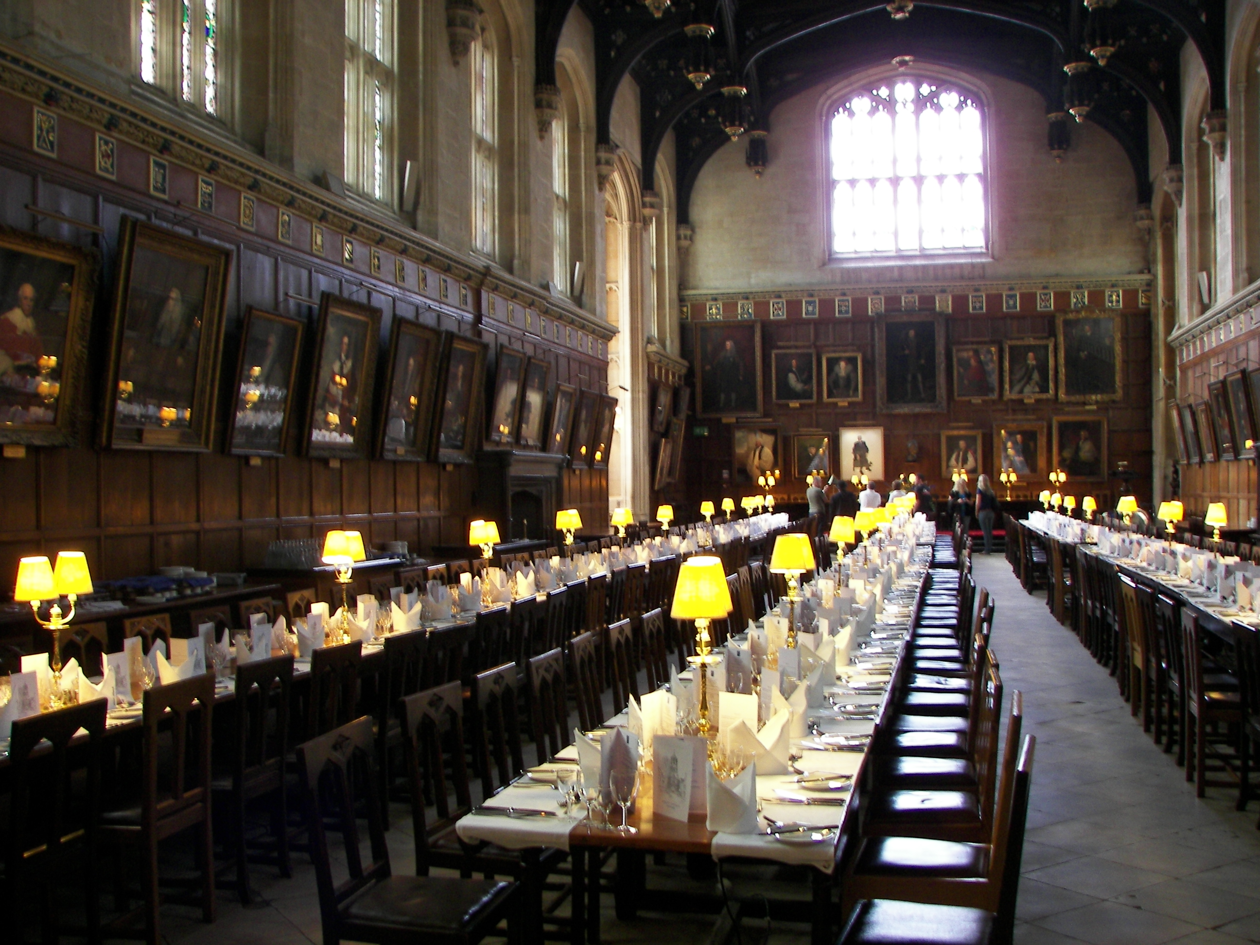 File christ church oxford hall wikipedia for Salle a manger harry potter