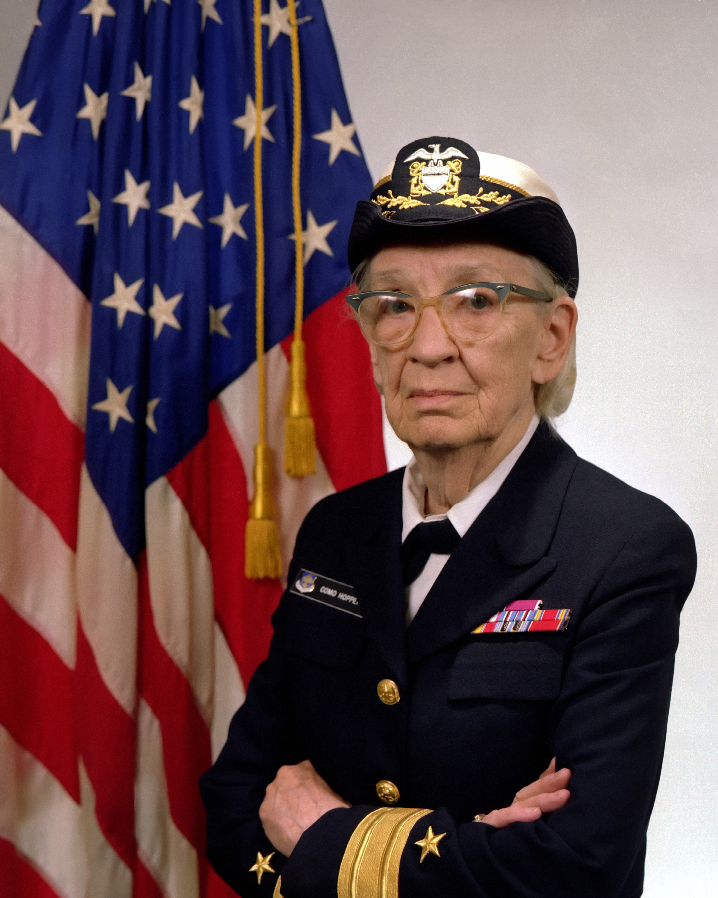 File:Commodore Grace M. Hopper, USN (covered).jpg ...