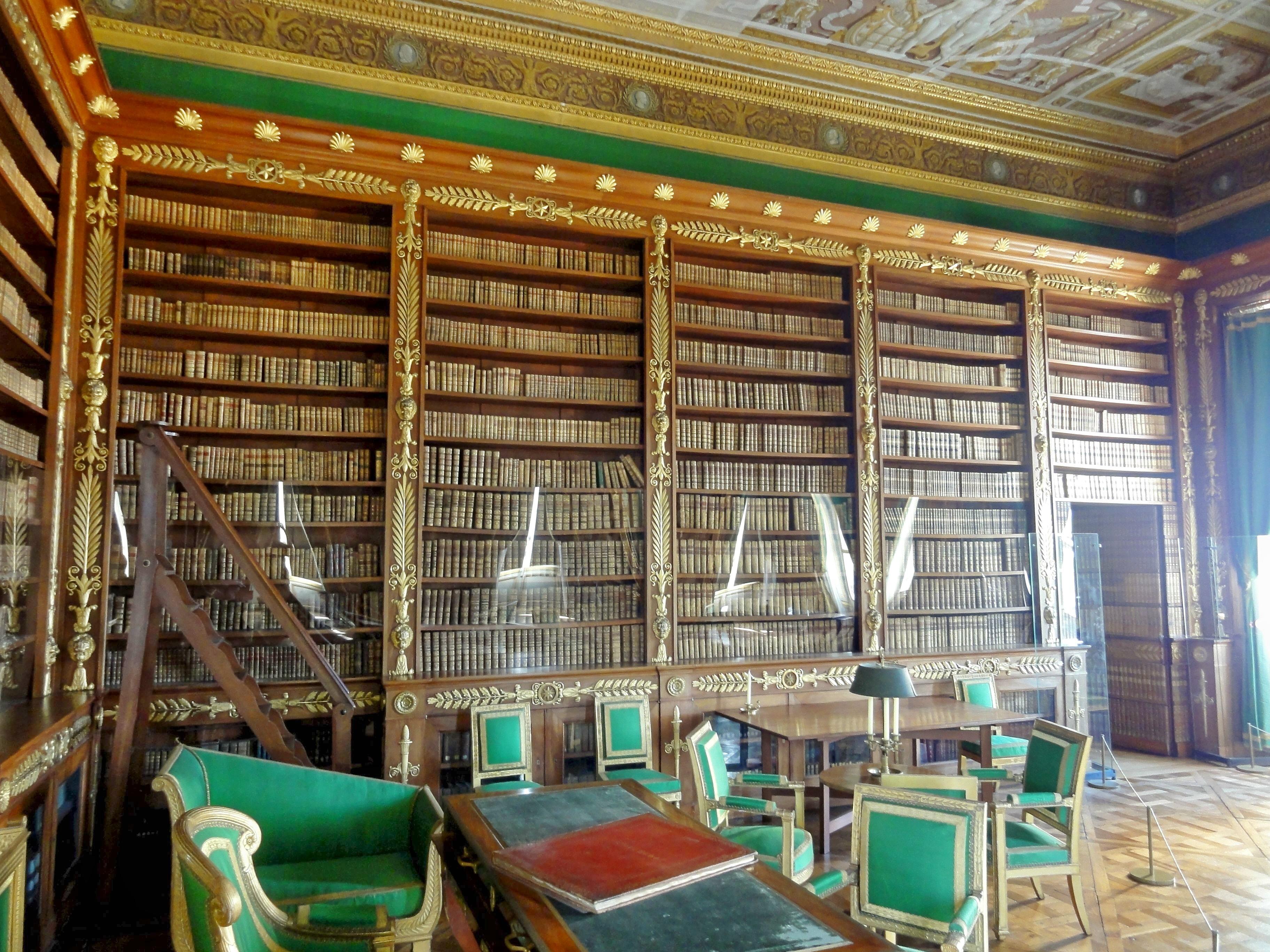 Datei compi gne 60 palais biblioth que de l 39 empereur 3 for Bureau 60 compiegne