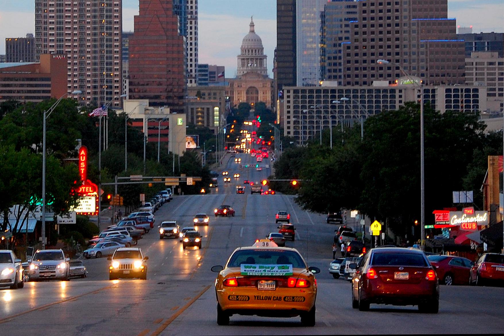 Hotels On  Street Austin Tx