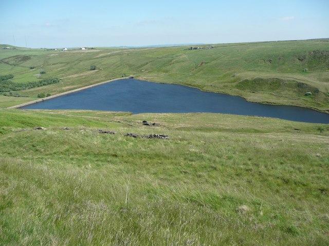 Deanhead Reservoir, Scammonden - geograph.org.uk - 838214