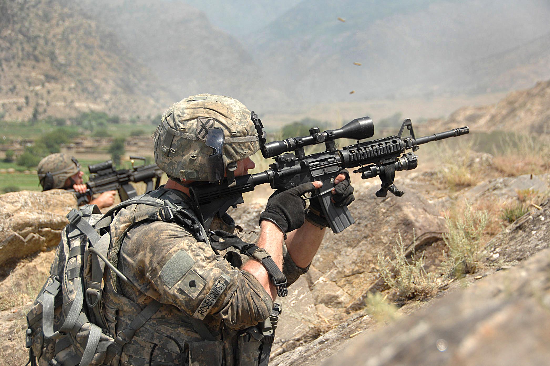 File:Defense.gov photo essay 090729-A-7265M-313.jpg ... M14 Sniper Rifle Airsoft