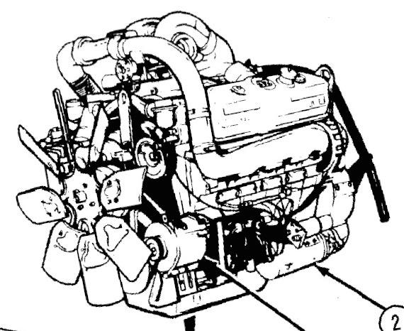 Detroit Diesel Drawing