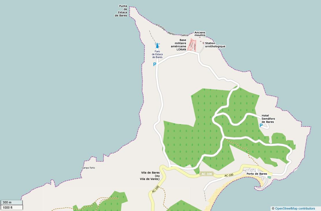 File Estaca De Bares Mapa Del Norte Del Cabo Jpg Wikimedia Commons