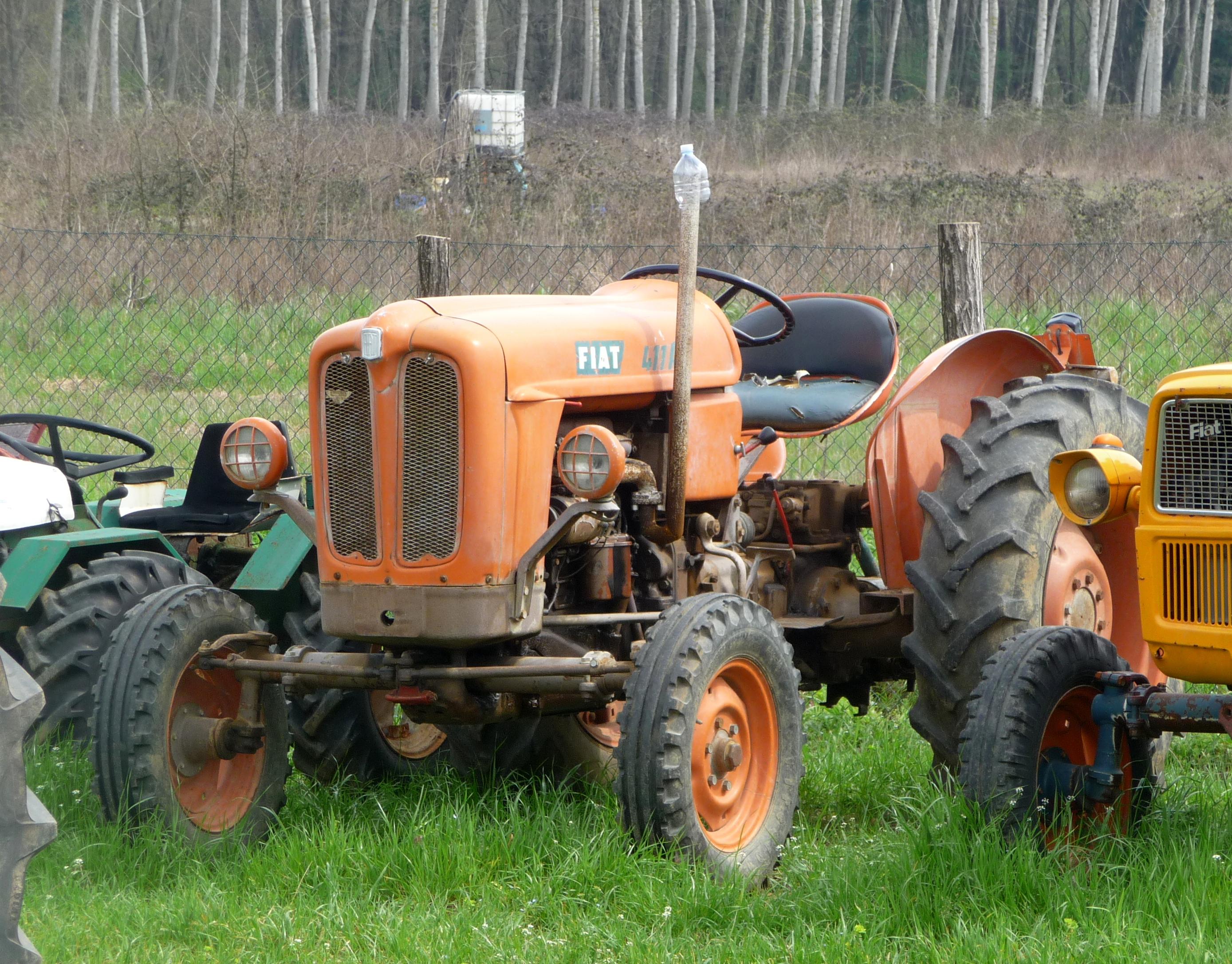 File Fiat 411 R Tractor Jpg