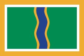 English: Flag of Andorra la Vella (Andorra) Es...