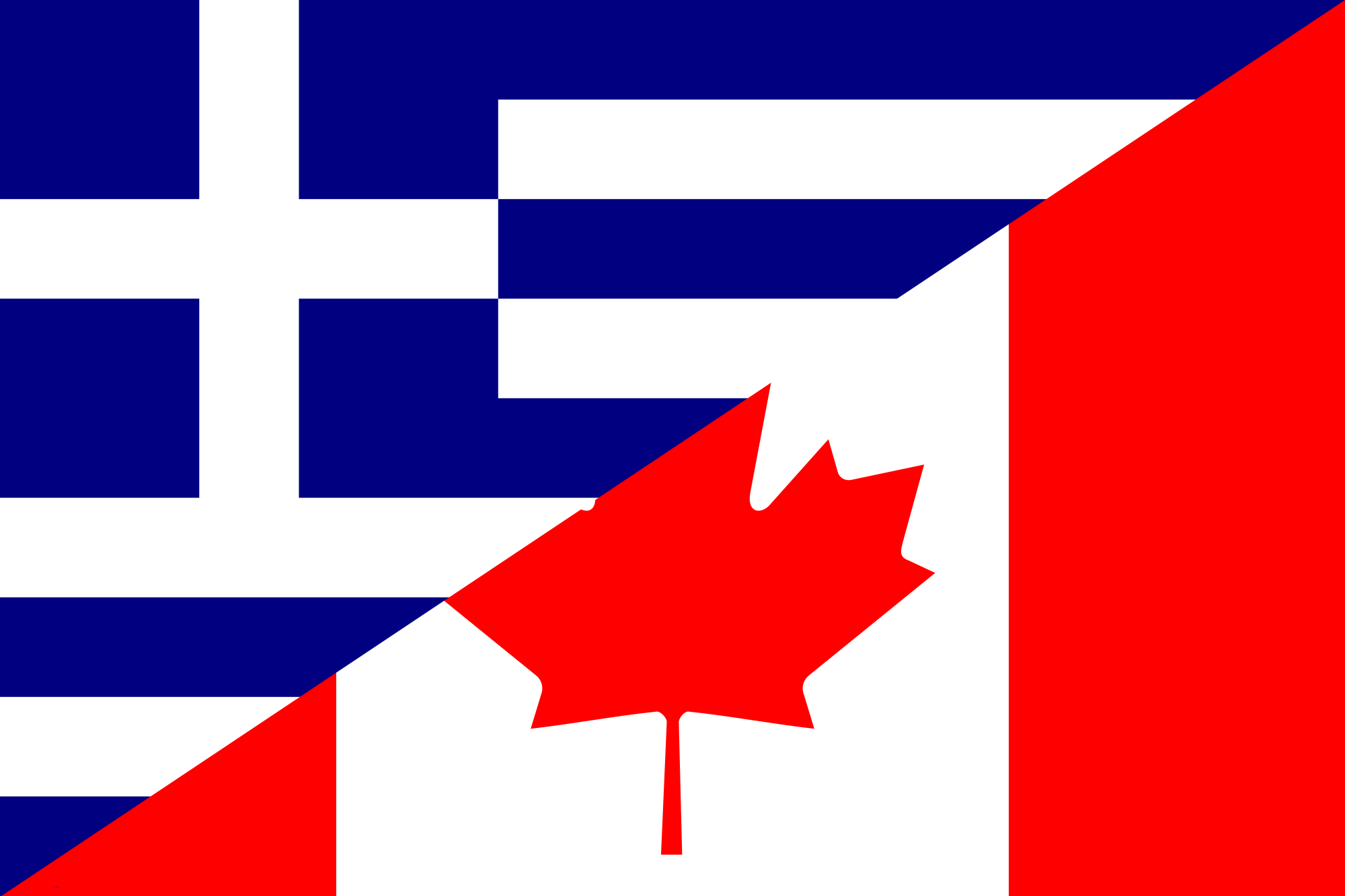 file flag of greece and canada png wikimedia commons