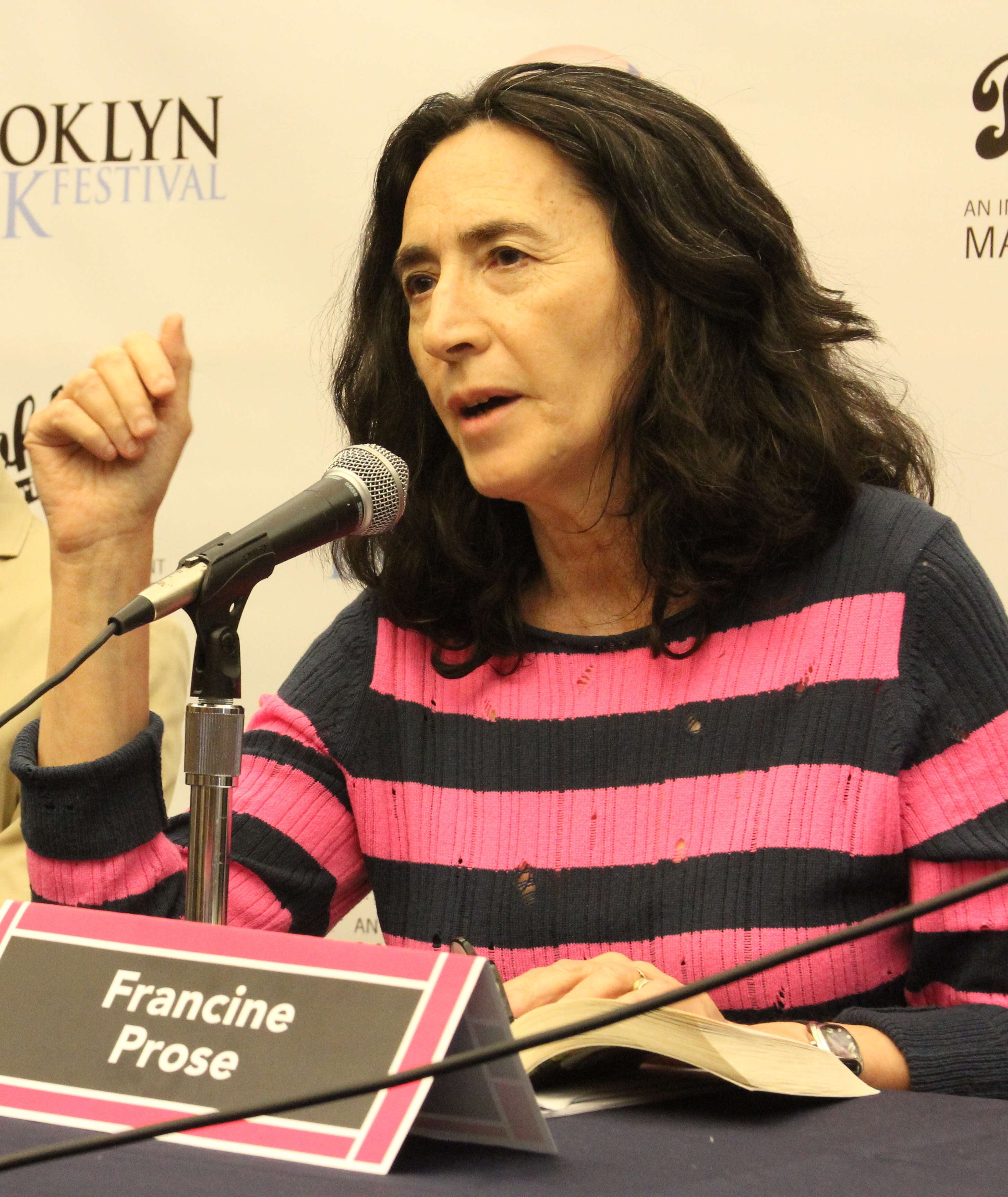 Prose at the 2012 [[Brooklyn Book Festival]]