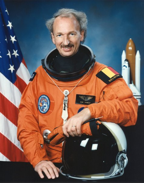 "ESA astronaut Dirk Frimout, STS-45 Payload Specialist, NASA photo<br />Source: <a href=""https://en.wikipedia.org/wiki/File:Frimout.jpg"" rel=""external"">Wikipedia</a> Frimout.jpg"