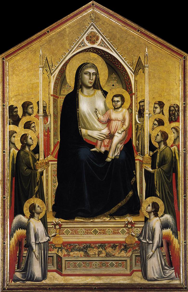 Giotto Uffizi Gallery  Room