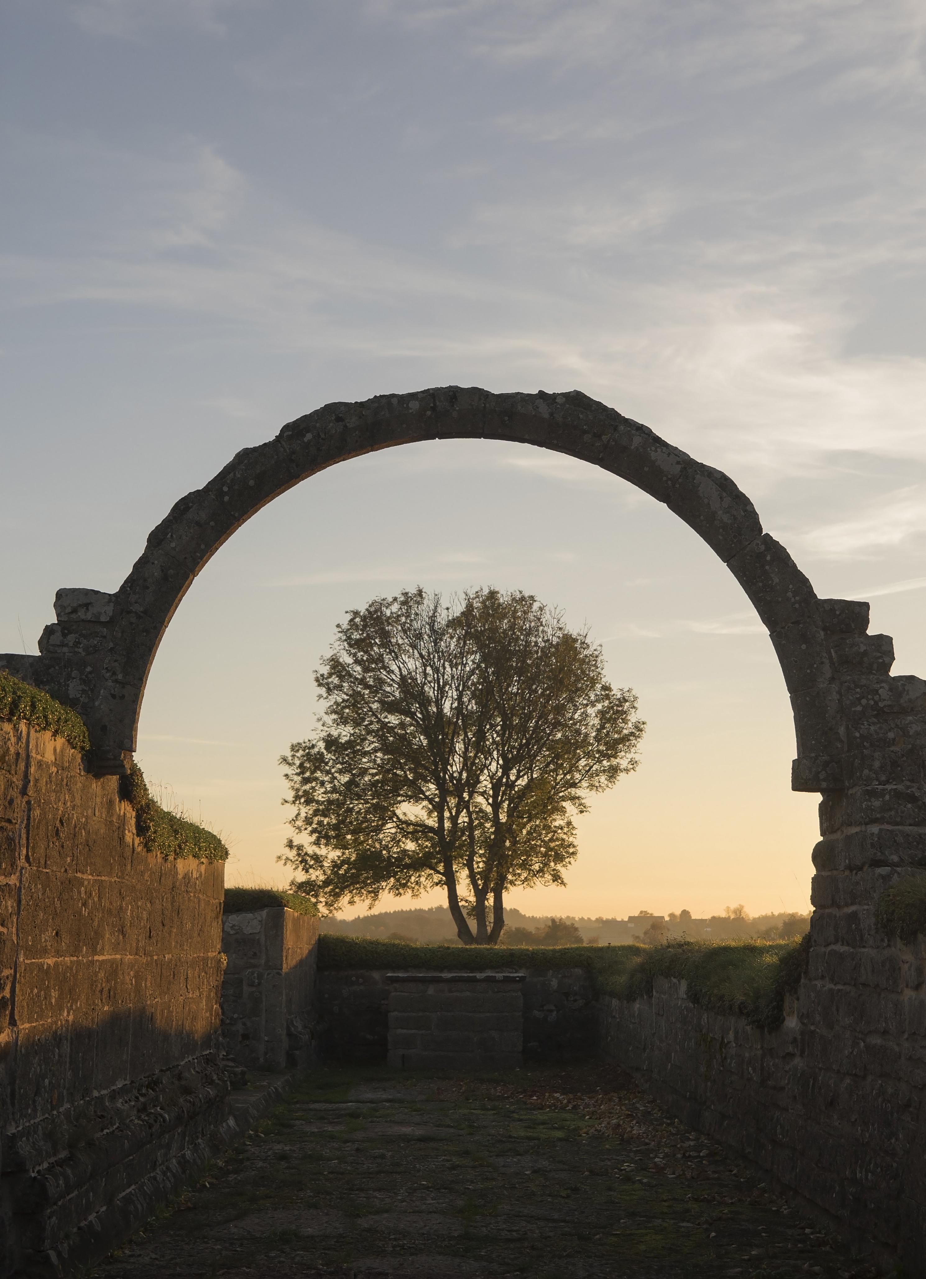 Kvarlämningar av ett medeltida kloster i Gudhem, Falköping, Sweden. Foto: Nicklas Sjölund Larsson CC BY-SA 4.0.