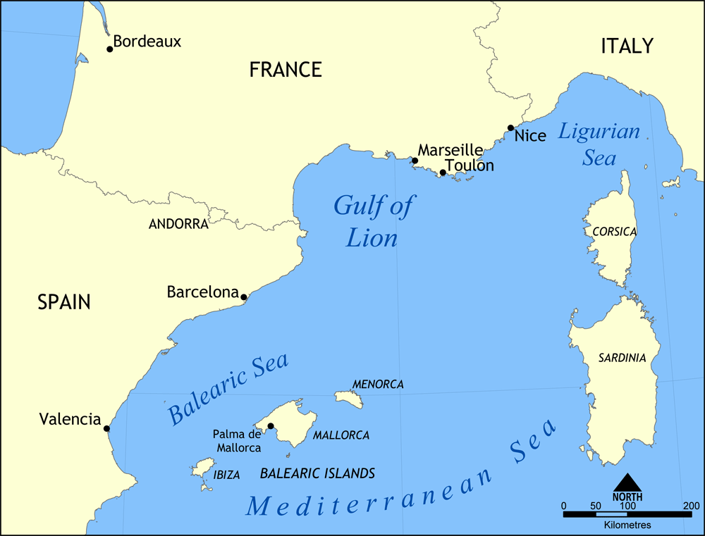 Gulf Of Lion Wikipedia