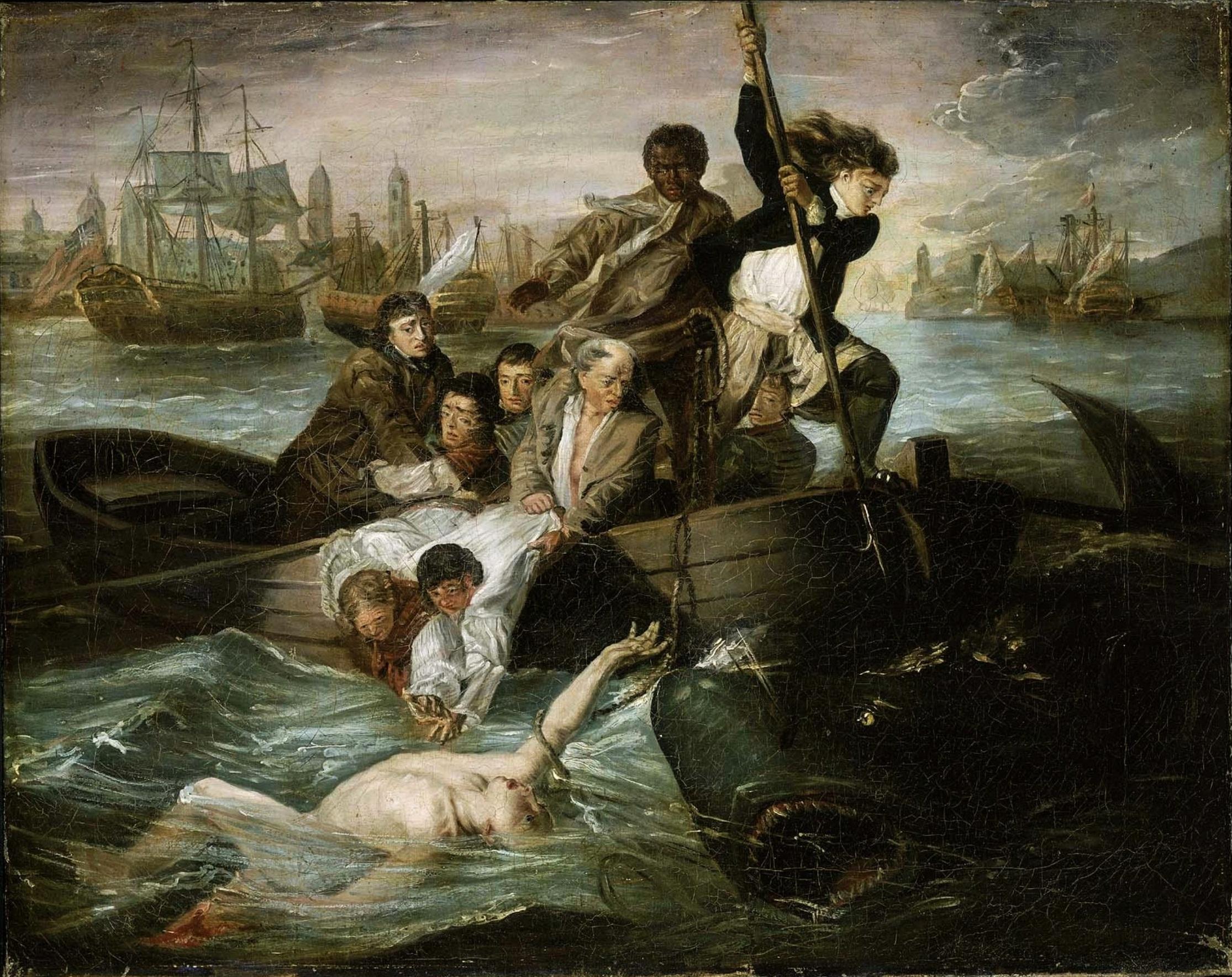 Oil Dark Matter Painting