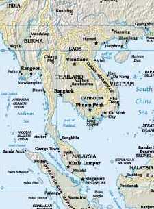 Halbinsel in Südostasien