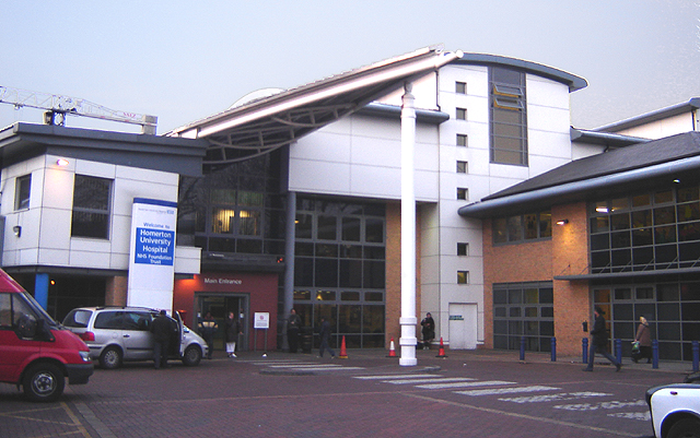 Homerton University Hospital Car Park