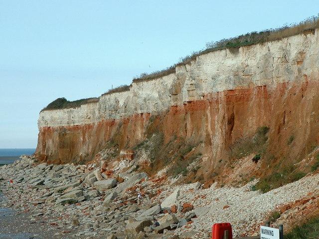 Image result for hunstanton cliffs