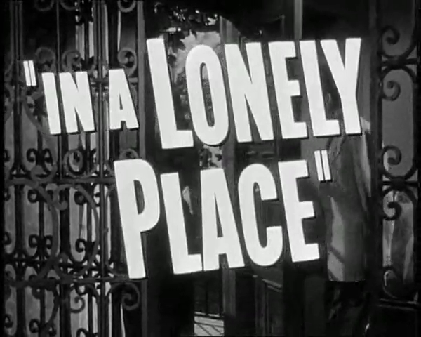 Image result for in a lonely place 1950