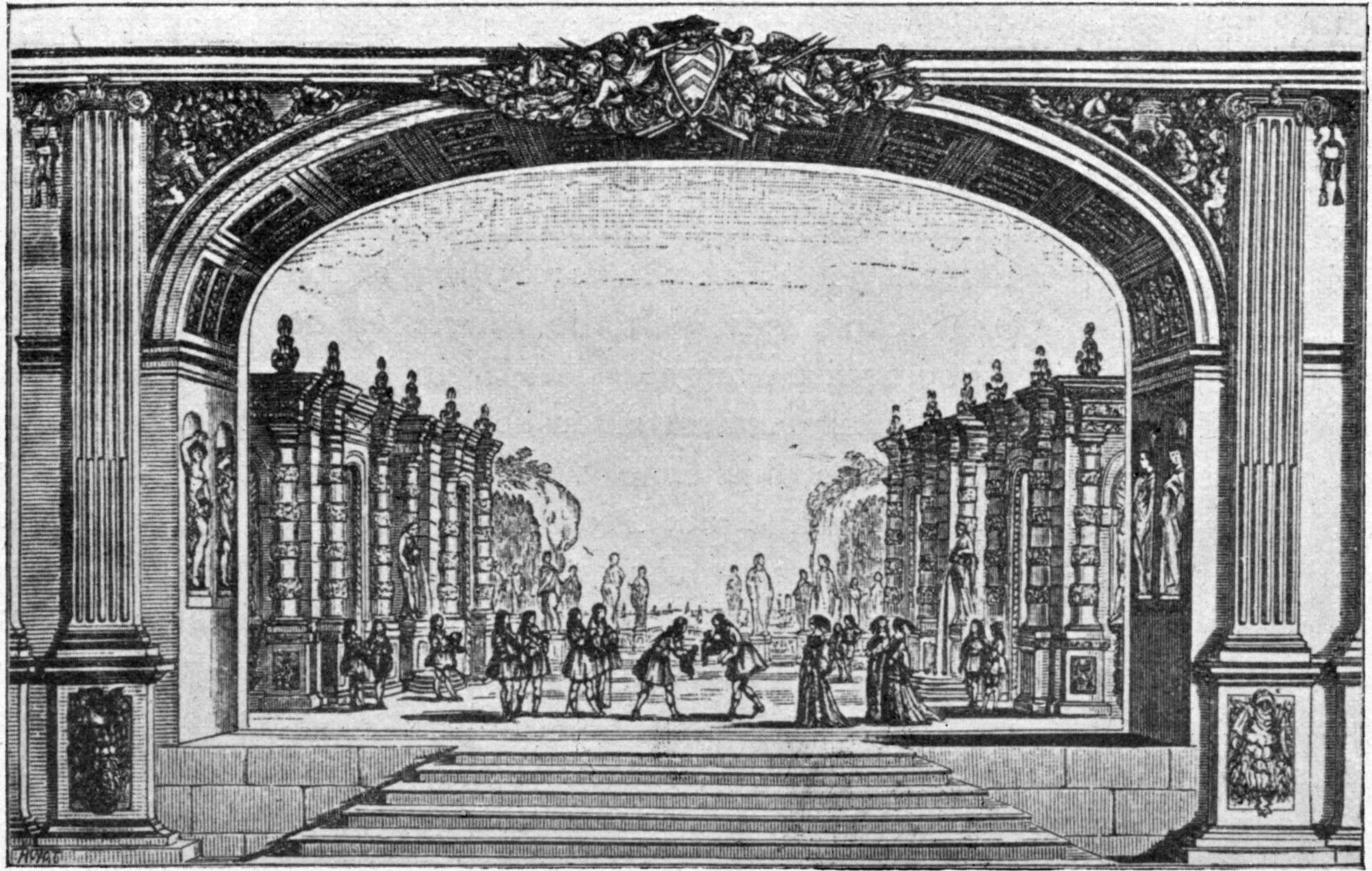 File:Inaugural of the Salle du Palais-Cardinal 1641 - decor of Mirame -