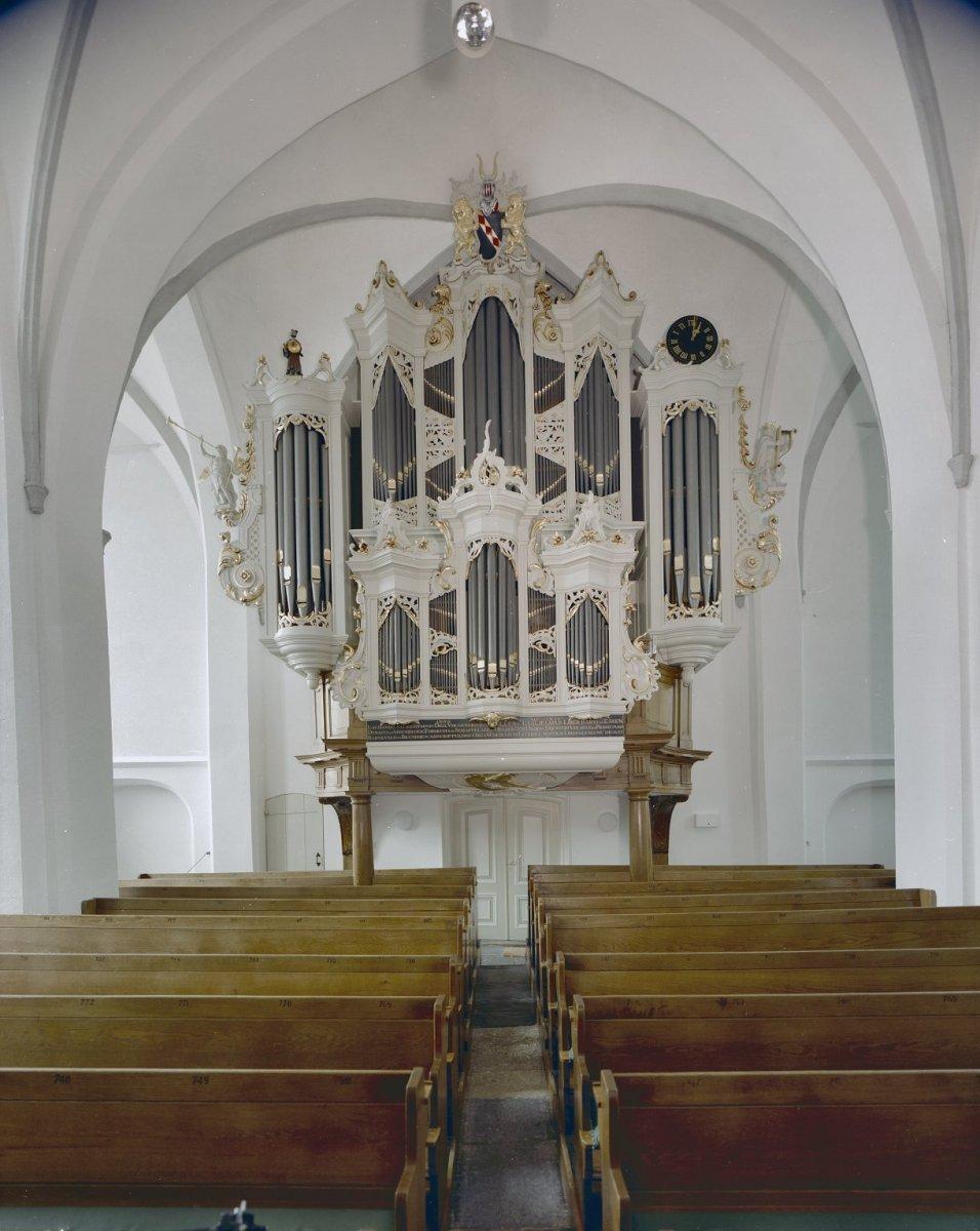 Bestand:Interieur, aanzicht orgel, orgelnummer 125 - Barneveld ...