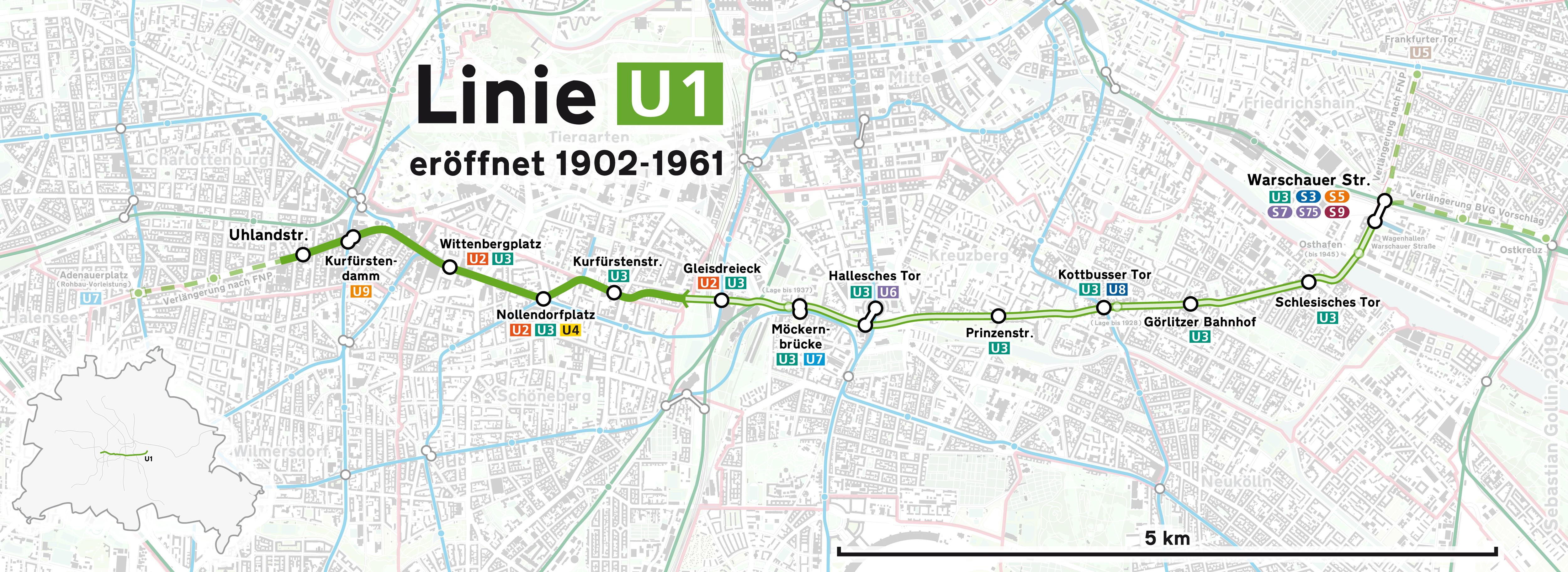 U Bahn Linie 1 Berlin Wikipedia