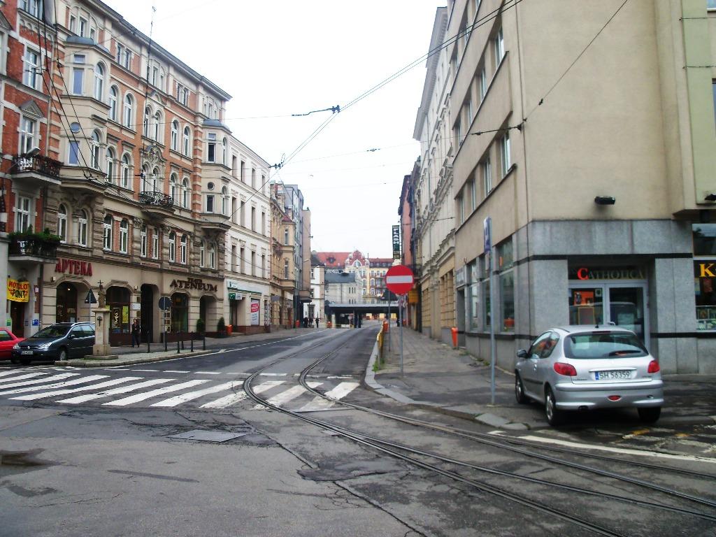 Ulica Świętego Jana w Katowicach