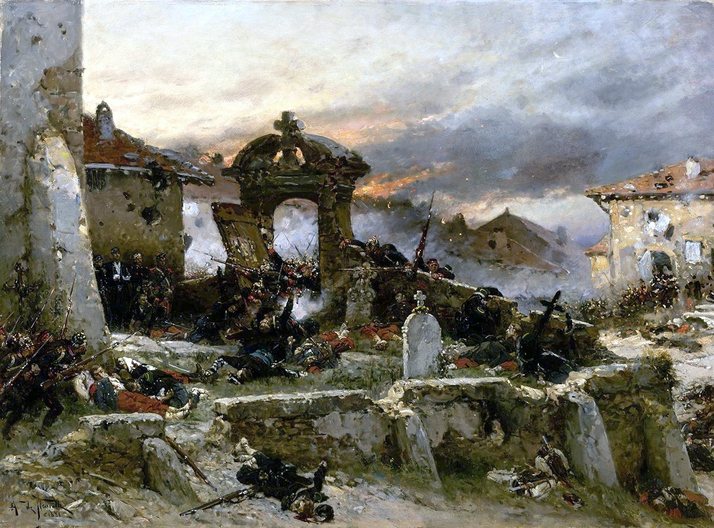 Fichier:Le cimetière de Saint-Privat (preparatory work).jpg ...