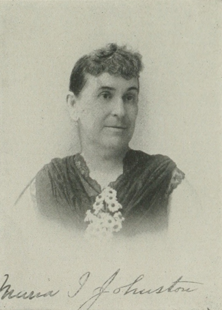 MARIA I. JOHNSTON A woman of the century (page 434 crop).jpg