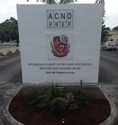 Archbishop Curley-Notre Dame High School Private, coeducational school in Buena Vista, Miami, , Florida, United States
