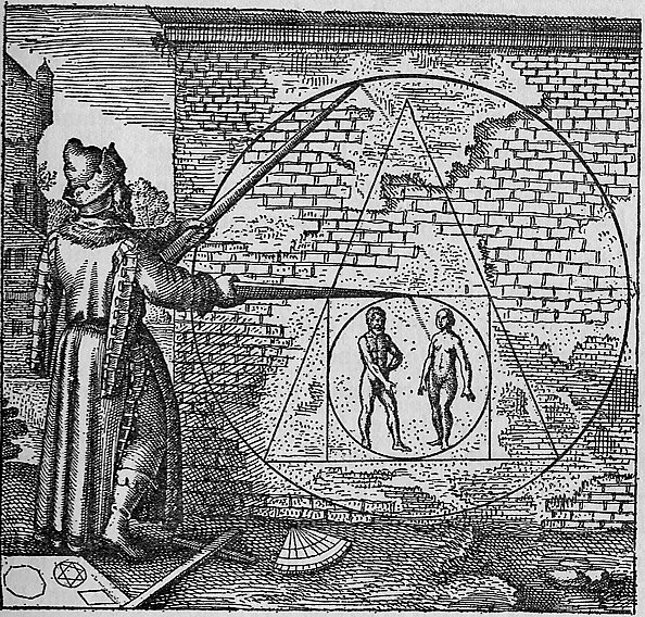An image of the philosopher's stone, used in alchemy.
