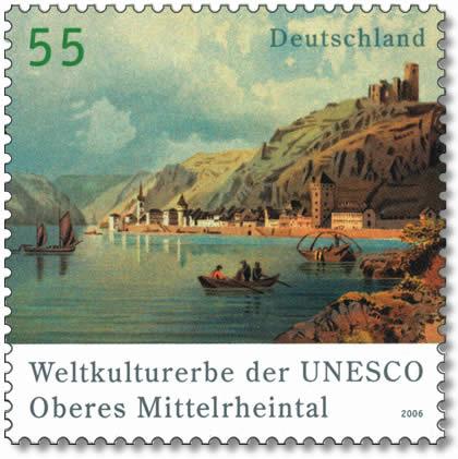 Briefmarken Der Post Ag Deutschland