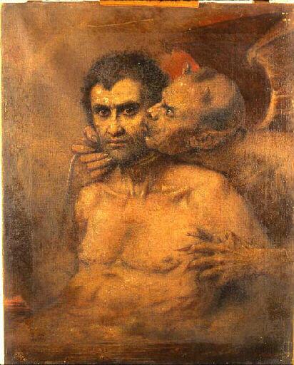 Molin Le Baiser rendu Judas et Satan