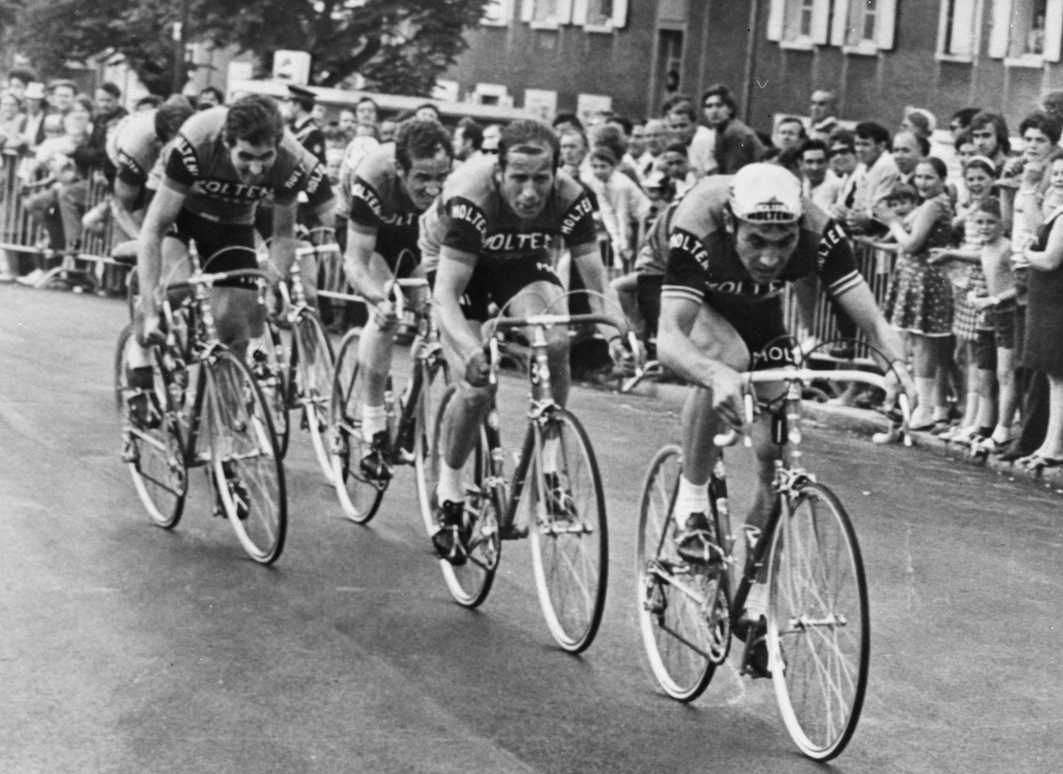 File:Molteni, Team time trial prologue, 1971 Tour de ...