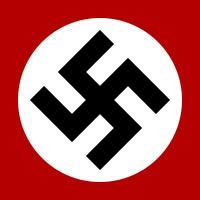 A Nazi swastika, created by Fibonacci.