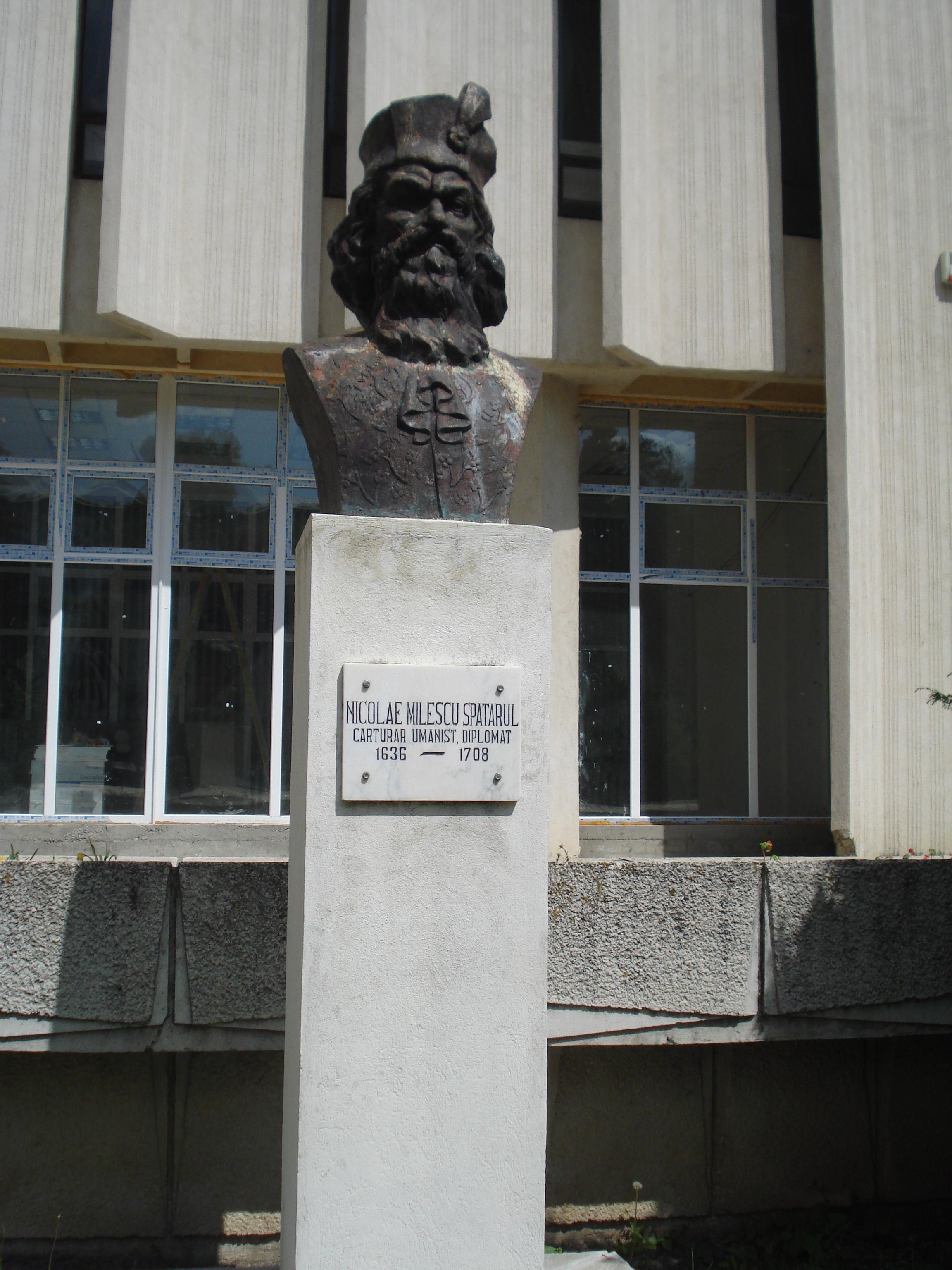 Fişier:Nicolae Milescu, Vaslui.JPG