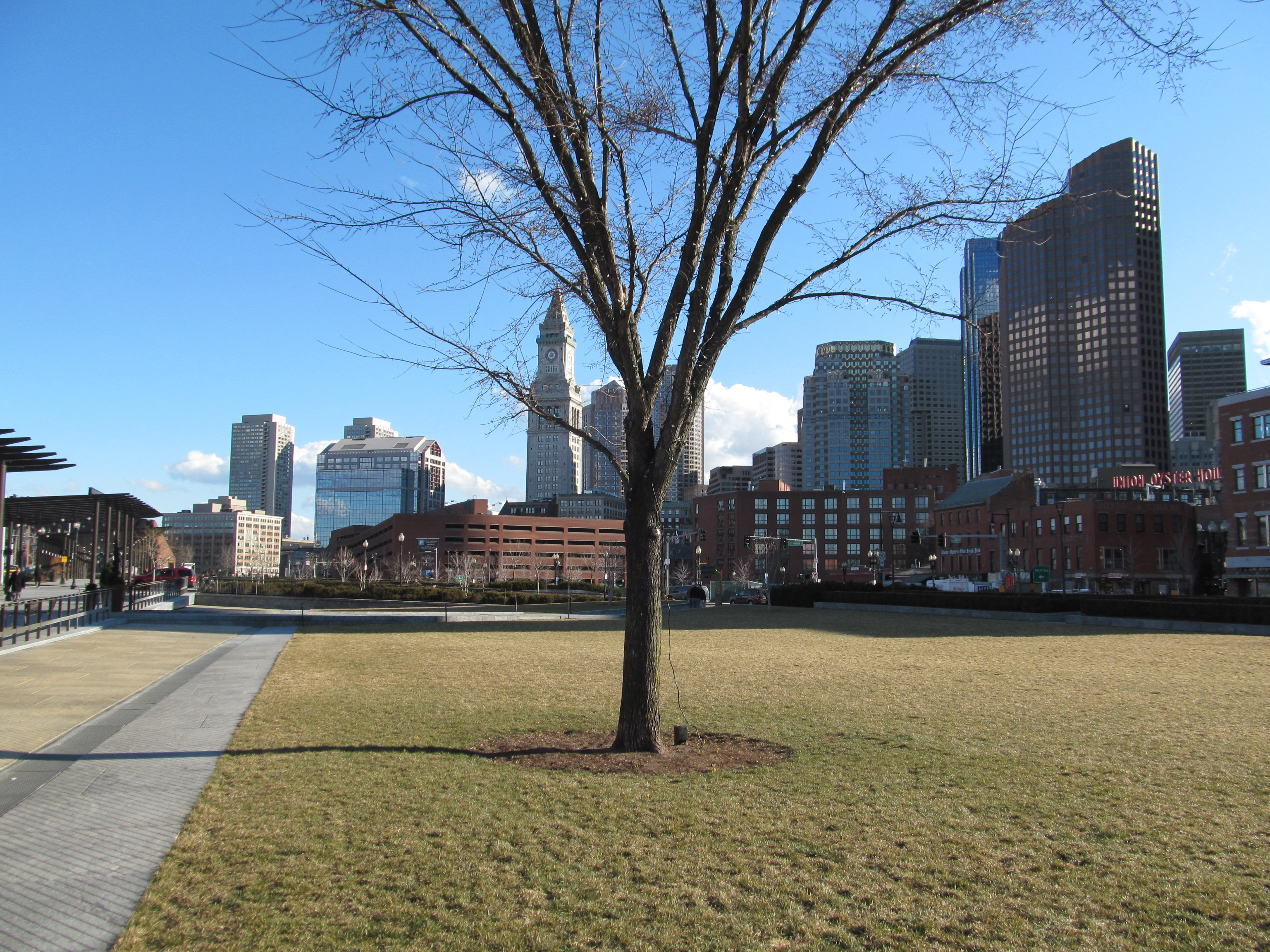 File:North End Park at Haymarket Square, Boston MA.jpg