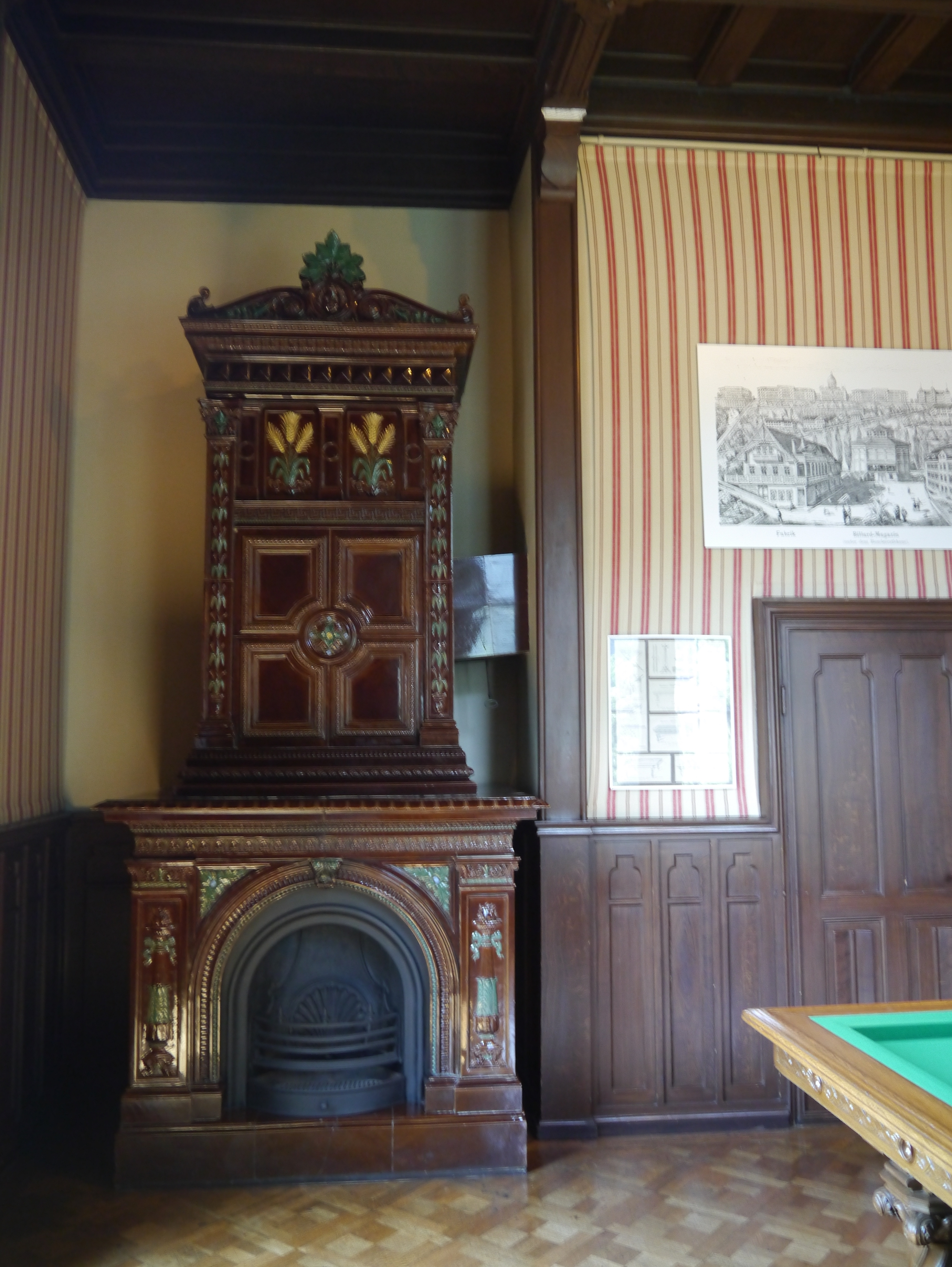 file oberhofen schloss oberhofen innen billardzimmer 4 jpg wikimedia commons. Black Bedroom Furniture Sets. Home Design Ideas