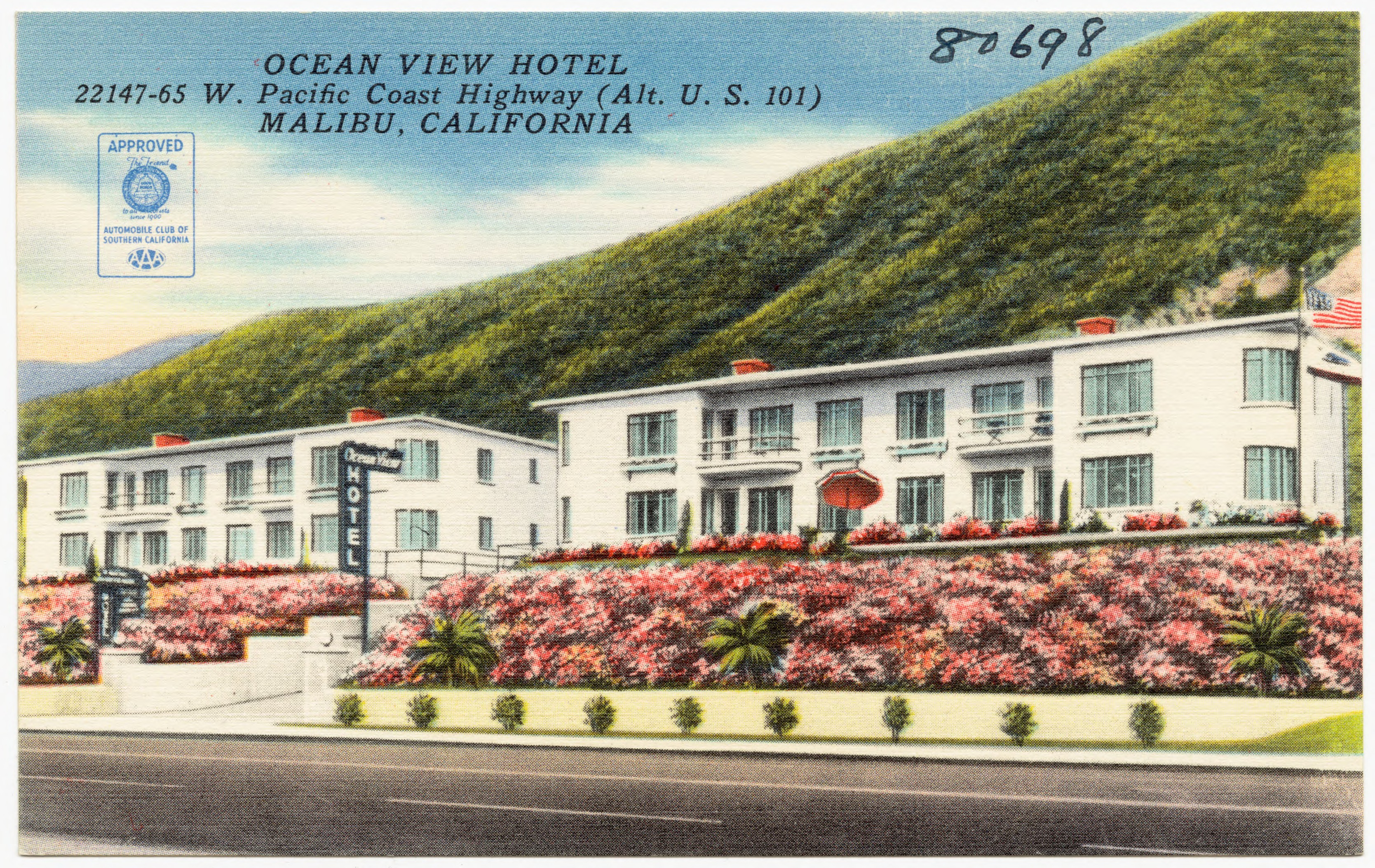 File Ocean View Hotel 22147 65 W Pacific Coast Highway Alt