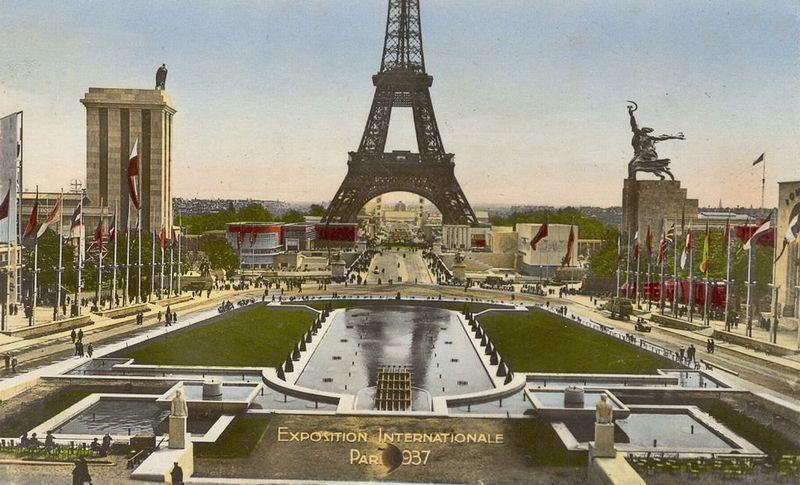 Image result for paris expo 1937