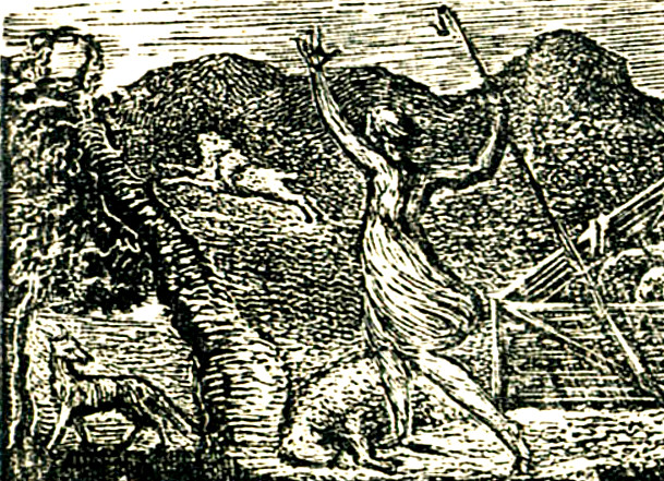 Pastorals of Virgil, Eclogue I proof impression (2) 1820 (Butlin 504) detail.jpg
