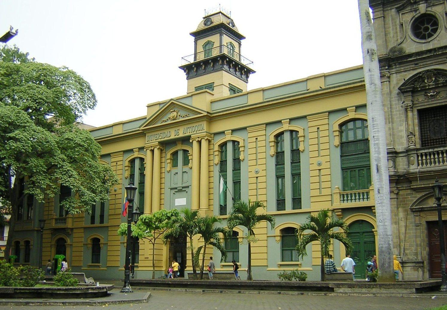 Resultado de imagen de universidad de antioquia panoramica