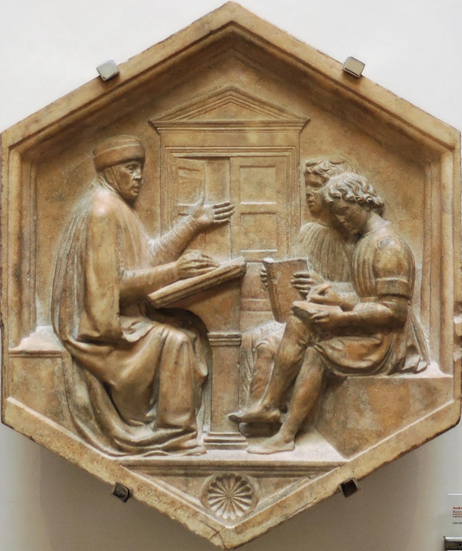 http://upload.wikimedia.org/wikipedia/commons/a/ad/Priscianus_della_Robbia_OPA_Florence.jpg