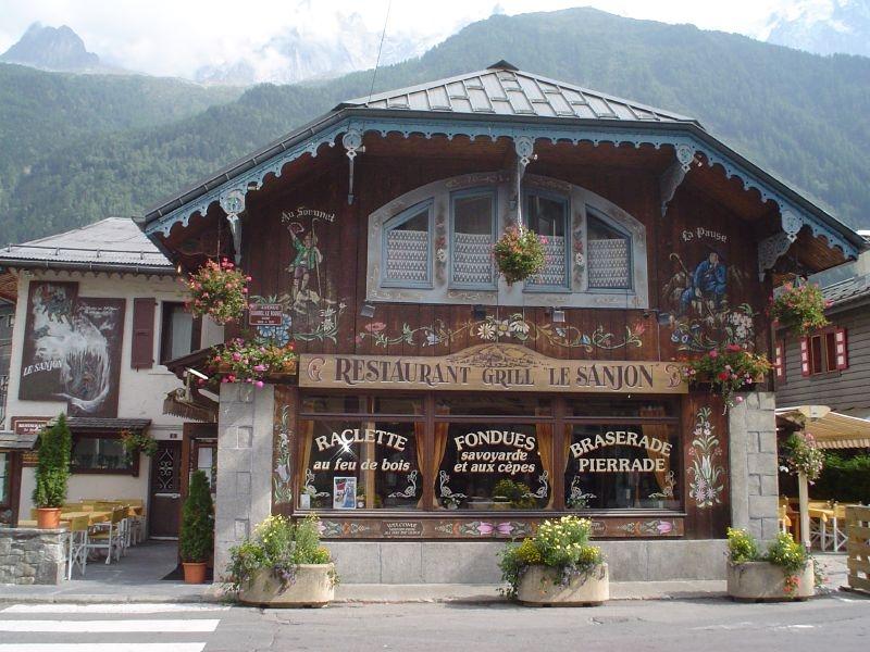 Restaurant le Sanjon à Chamonix-Mont-Blanc