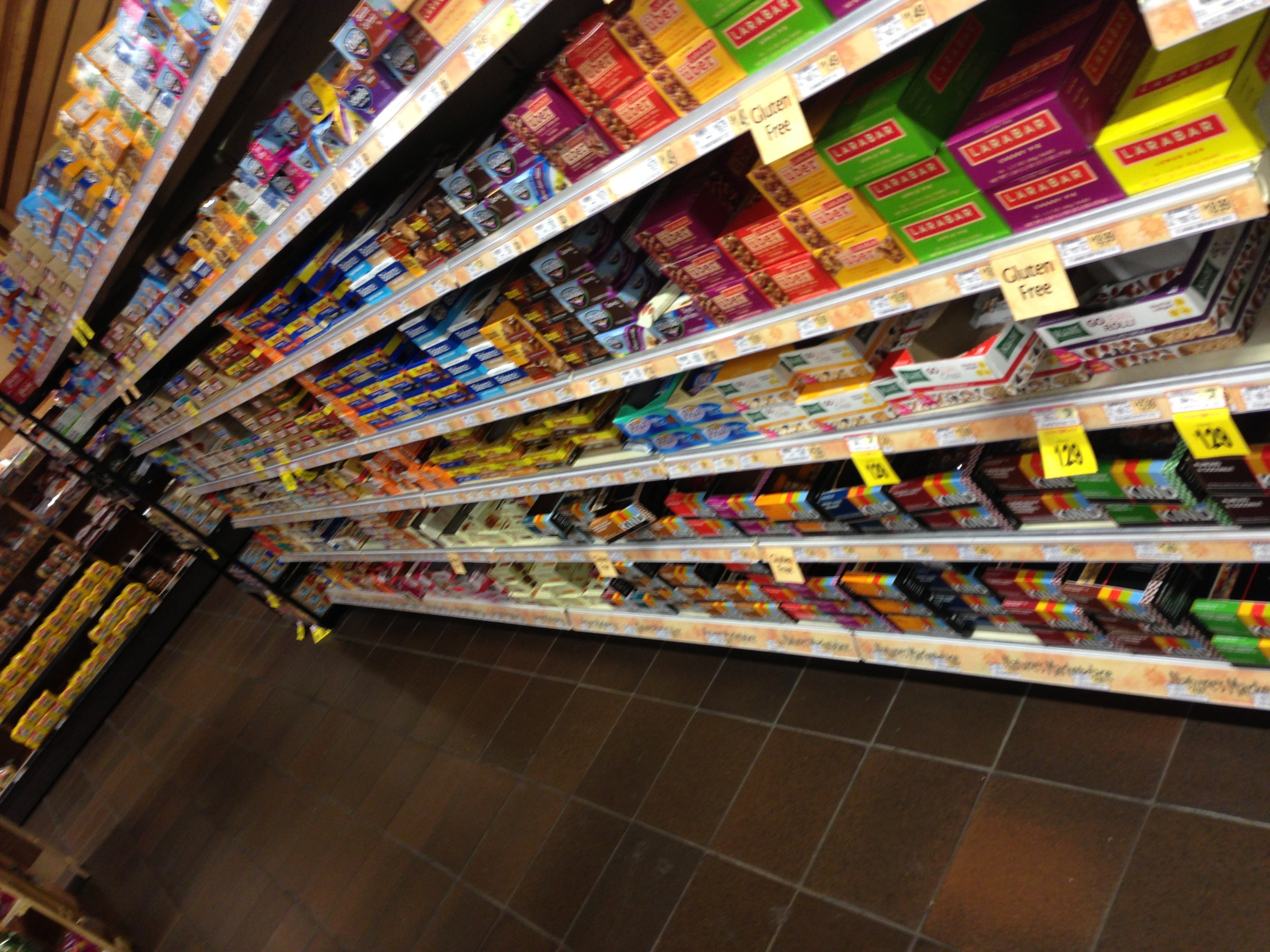File:Retail grocery store shelf display of broad range of food bars, meal  bars, and snack bars- 2013-04-19 14-39.jpg - Wikimedia Commons